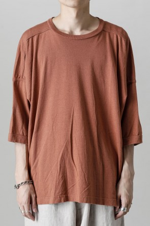 O PROJECT22SSSHORT SLEEVE TEE RED BRICK