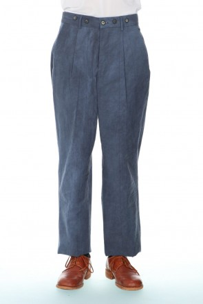 Bergfabel 21SS Farmer Pants Dirty Blue