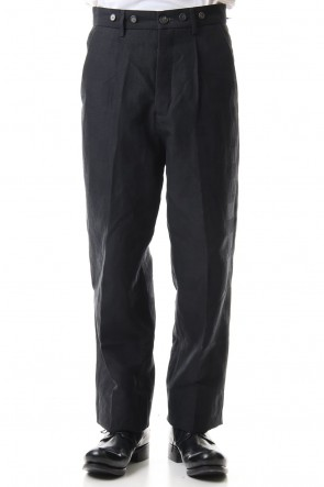 Bergfabel 20SS Farmer pants Charcoal Charcoal Navy