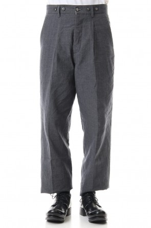 Bergfabel 20SS Farmer pants Navy Gray