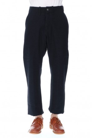 Bergfabel 20-21AW Tyrol Pants Straight Black Navy