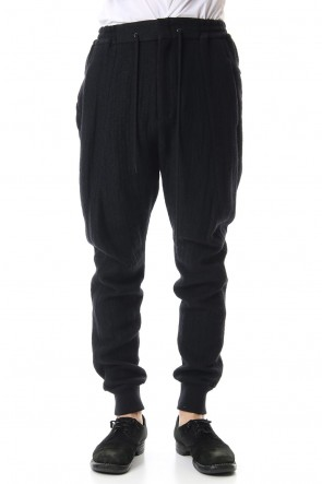 DEVOA 19-20AW Double Face Easy Pants