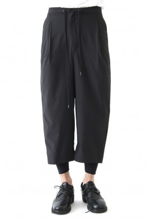 DEVOA 18SS Layered Pants Breathing Polyester Black