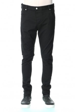 RIPVANWINKLE 21PS Standard Chino Black