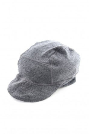 RIPVANWINKLE 18-19AW Washable Wool Jersey Cycle Beanie RB-058 M.Gray