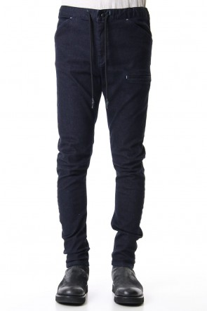 RIPVANWINKLE 19-20AW SLIM EASY PANTS Deep Indigo