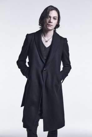 kiryuyrik 21-22AW Shawl Collar Coat Black