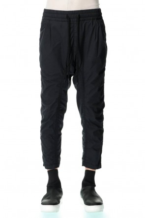 RIPVANWINKLE 21SS Cropped easy Pants Black