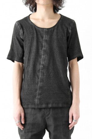 Saddam Teissy - Product dyed Cold Dye Gauze Plain Stitch Reversible T-Shirt