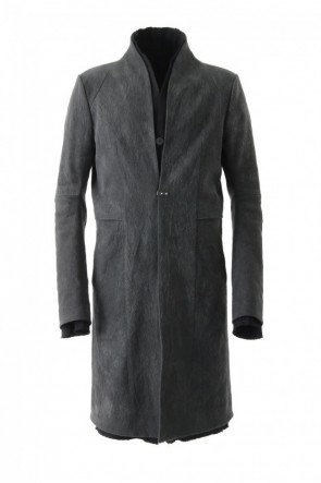 SADDAM TEISSY 17-18AW Layered Hi-Necked Coat