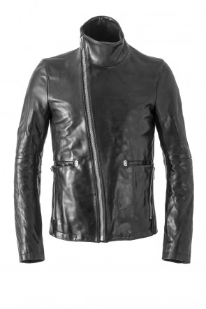 SADDAM TEISSY 17SS Horse Leather High Neck Jacket