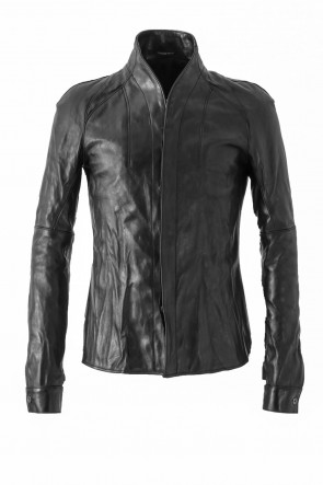 Horse Leather Shirt Jacket
