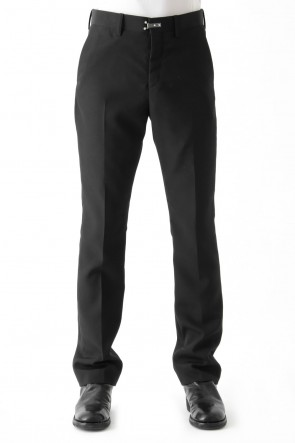 SADDAM TEISSY 18-19AW Slim Straight Trousers