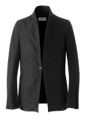 Song for the Mute 17SS LIGHT RAYON - DULL RAISED NECK JACKET