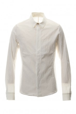 individual sentiments 18-19AW Shirt SH21 Cotton Boil White