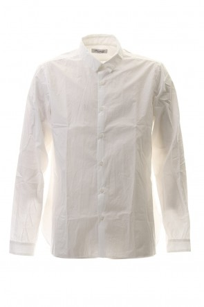 Bergfabel 20-21AW Large Short Tyrol Shirt White