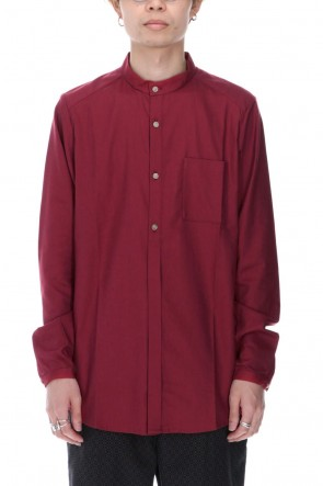 individual sentiments 20-21AW Cotton Modal Twill Shirts