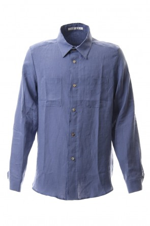 individual sentiments 20SS Thin Linen Cloth Shirt - SH52-LI12