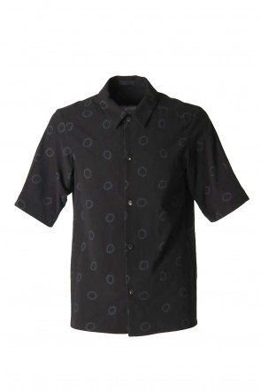 DEVOA 20SS Short sleeve shirt Cotton circle print
