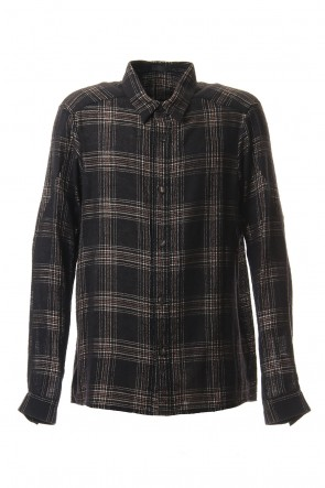 DEVOA 19-20AW Virgin Wool Check Shirt