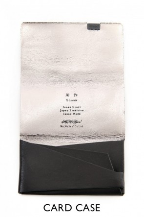 No,No,Yes! BASIC No,No,Yes!  -shosa- Card Case - Black x Silver