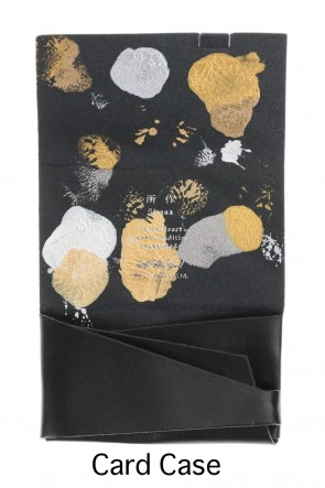 No,No,Yes! BASIC Shosa - No,No,Yes! Card Case Black × Jellyfish