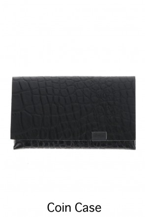 No,No,Yes! BASIC Shosa - No,No,Yes! Coin Case Embossing Croco Black