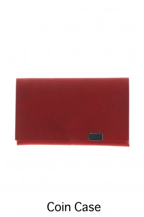 No,No,Yes! BASIC Shosa - No,No,Yes! Coin Case Nubuck Red