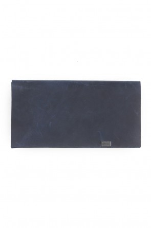 No,No,Yes! BASIC No,No,Yes!  - shosa - Long Wallet Oil Nubuck Navy