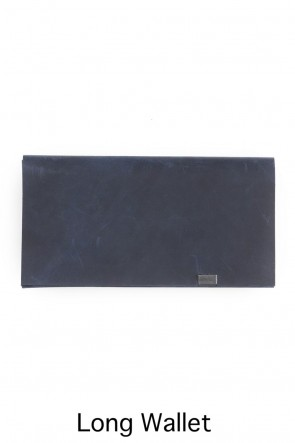 No,No,Yes! BASIC Shosa - No,No,Yes! Long Wallet Oil Nubuck Navy