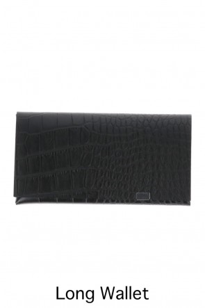 No,No,Yes! BASIC Shosa - No,No,Yes! Long Wallet Embossing Croco Black