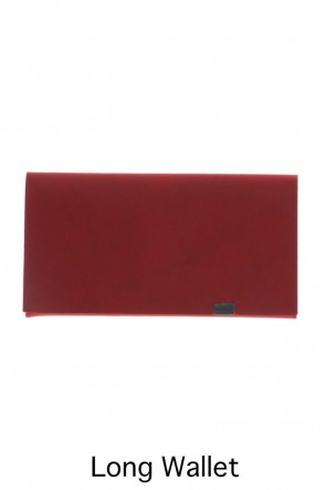 No,No,Yes! BASIC Shosa - No,No,Yes! Long Wallet Oil Nubuck Red