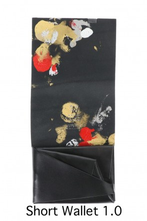 No,No,Yes! BASIC Shosa - No,No,Yes! Short Wallet 1.0 Black × Goldfish