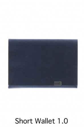 No,No,Yes! BASIC Shosa - No,No,Yes! Short Wallet 1.0 Oil Nubuck Navy