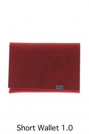No,No,Yes! BASIC Shosa - No,No,Yes! Short Wallet 1.0 Oil Nubuck Red