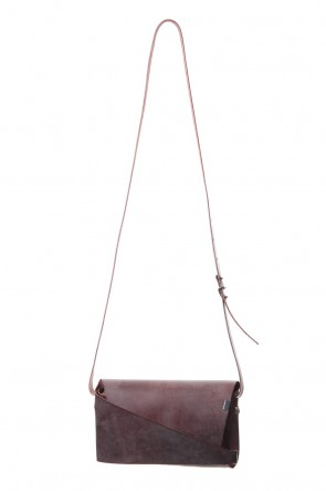 No,No,Yes! 19-20AW No,No,Yes! -shosa- Shoulder pouch (BORDEAUX)