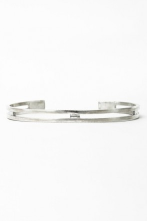 iolom Classic Silver Bangle 030