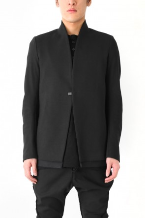 Raw Raised Neck Jacket