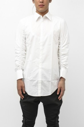CLASSIC COLLAR ELASTICATED SHIRT
