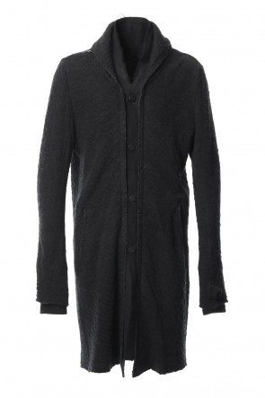 SADDAM TEISSY 18-19AW Norway wool dual-layered fabric coat