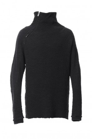SADDAM TEISSY 18-19AW Norway wool dual-layered fabric high neck pullover