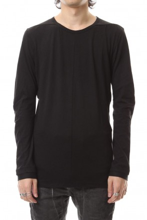SADDAM TEISSY 19-20AW Yak india long sleeve T-shirts - ST101-0099A Black