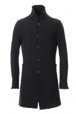 SADDAM TEISSY 20-21AW Heavy cotton jersey Long Jacket