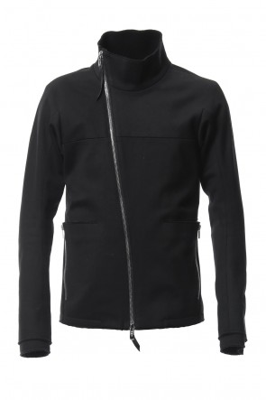 SADDAM TEISSY 18-19AW Heavy cotton jersey high neck jacket