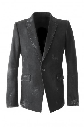 SADDAM TEISSY 18SS Destroyed Denim Tailored Jacket