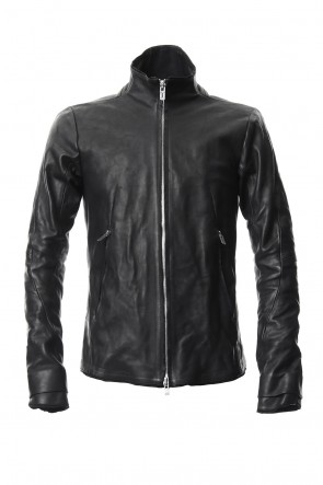 SADDAM TEISSY 18-19AW High Neck Leather Jacket