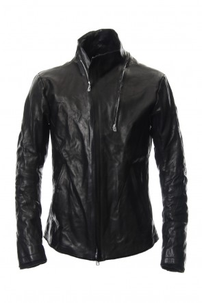 SADDAM TEISSY 19SS  High-necked leather jacket - ST105-0019S