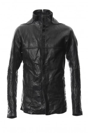 SADDAM TEISSY 18-19AW Bonding Horse Leather Shirt