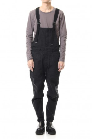 D.HYGEN 20SS Heavy Canvas Tapered Cropped Overall