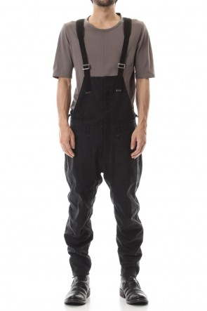 SADDAM TEISSY 20SS Heavy Canvas Tapered Cropped Overall